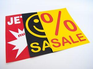 Sale-Plakate