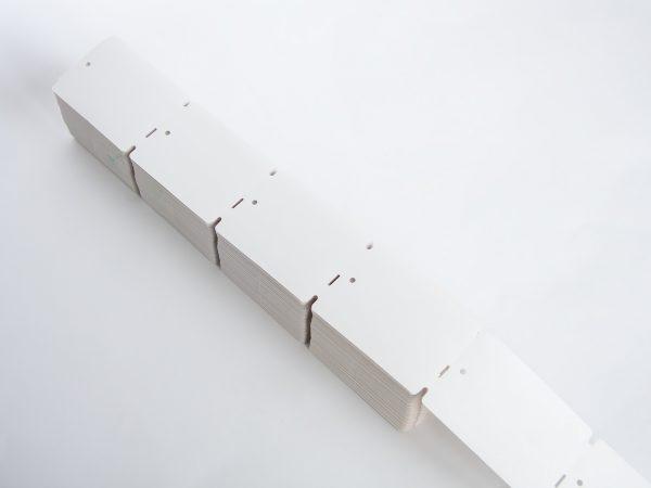 5.000 Thermo-Kartonetiketten 50x70mm