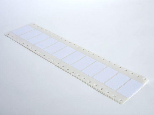 6.000 Lochrand Haftetiketten 45 x 23 mm