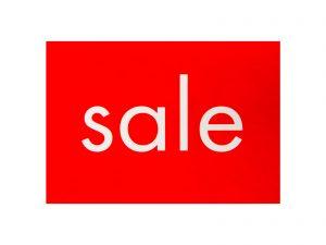 """10 Sale-Plakate DIN A4 """"Sale"""""""